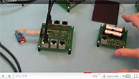 Video on a plug-and-play system for energy harvesting sensors