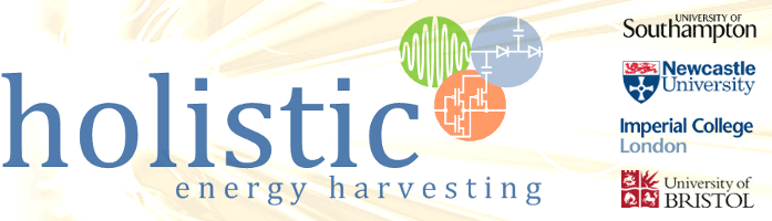 Holistic: Next Generation Energy-Harvesting Electronics